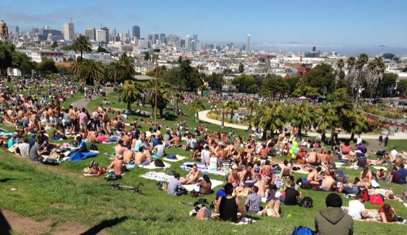 Dolores Park, San Francisco, Mission, LGBTQ