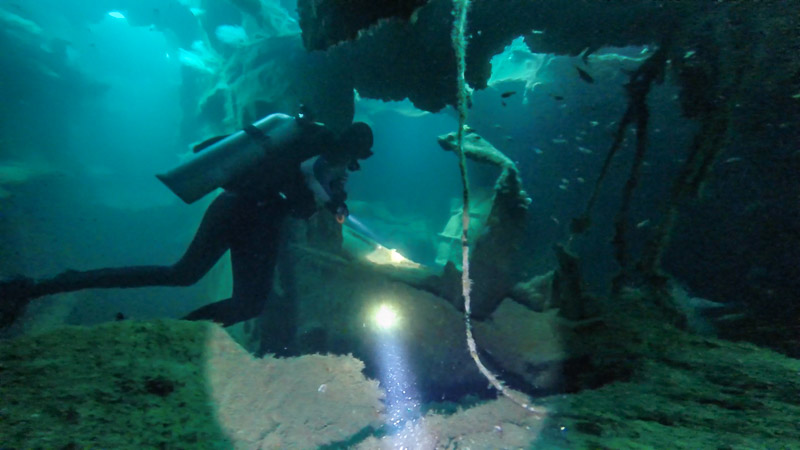 Bucket list adventures- How to plan a trip to dive WWII shipwrecks in the Philippines - GettingStamped.com
