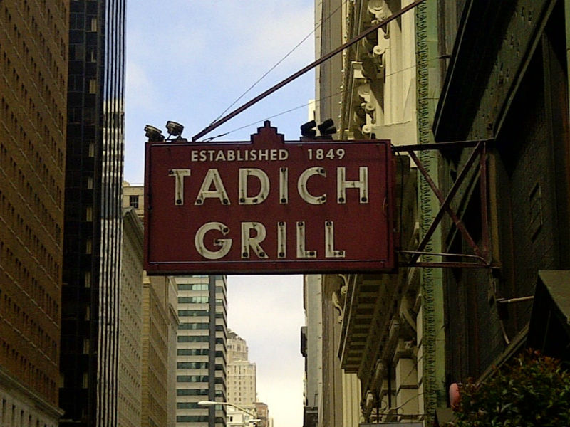 Tadich Grill, San Francisco