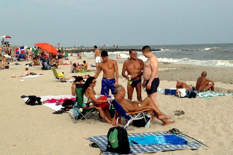 Riis Beach, LGBTQ, NYC, Queens