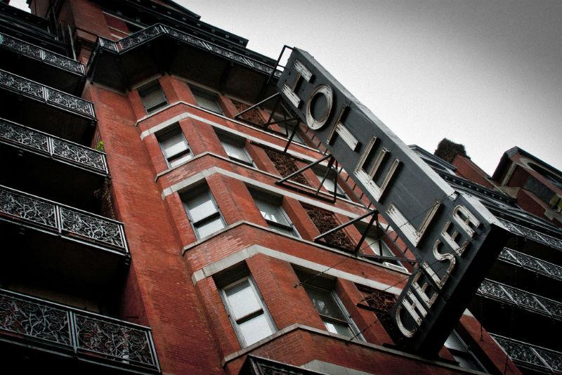 Hotel Chelsea, NYC, New York