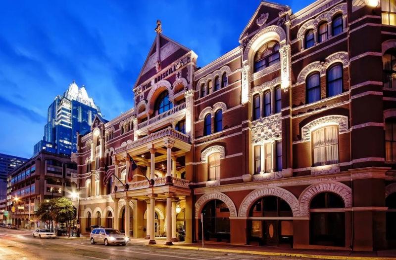 Hotel Driskill, Austin, hotels