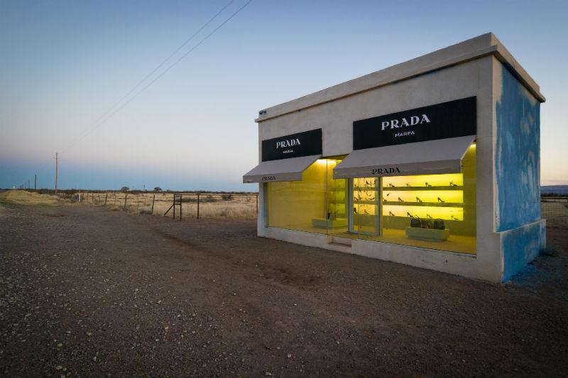 Prada, Marfa, Texas, travel