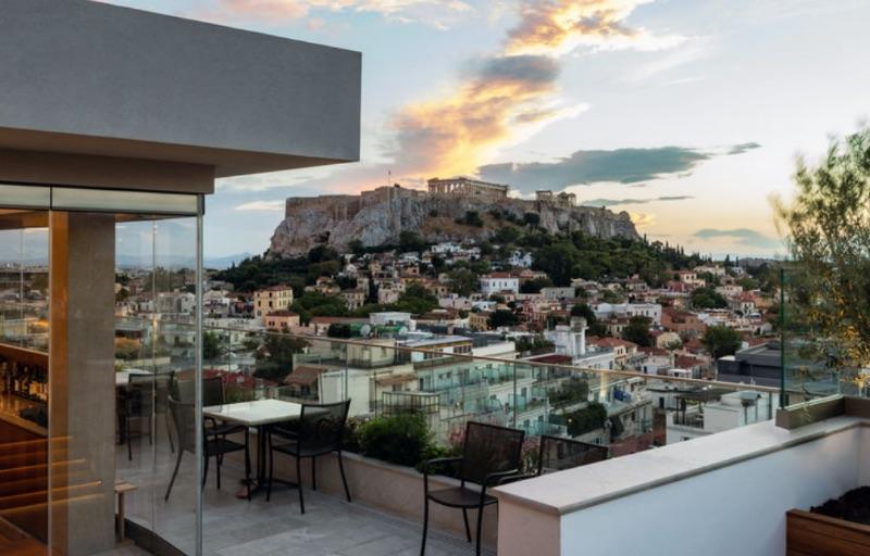 Electra Metropolis Athens, Greece, views
