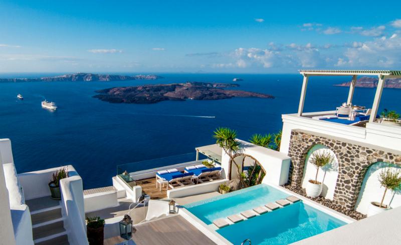 Iconic Santorini, Greek islands, Greece,