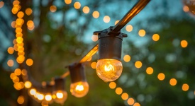 glamping string lights