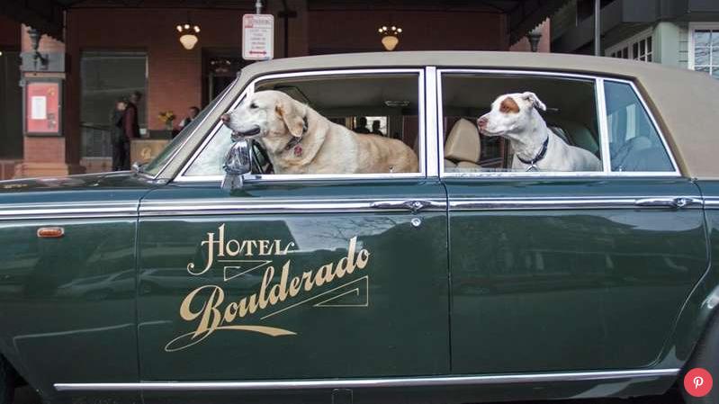 The Hotel Boulderado's Rolls Royce