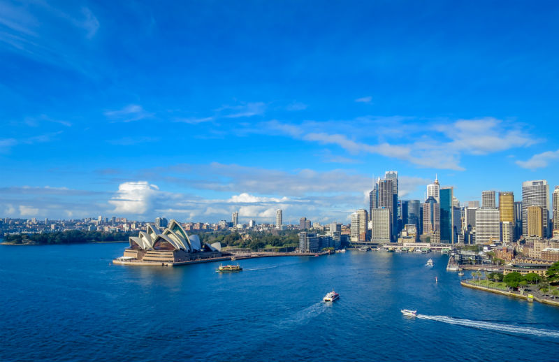 Sydney Harbour, Australia, New South Wales, Sydney