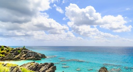 Rocky Coastline, Bermuda