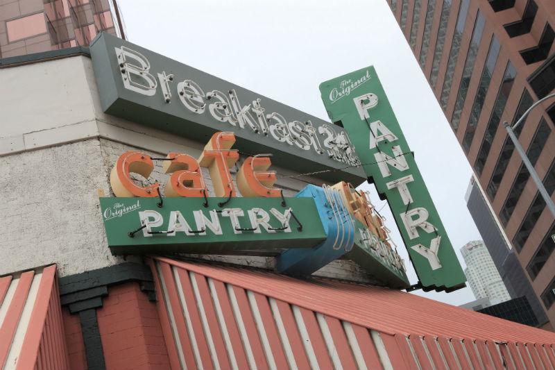 Original Pantry Cafe, breakfast, Los Angeles