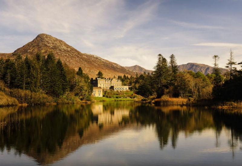 castle, hotel, Ireland, Dublin