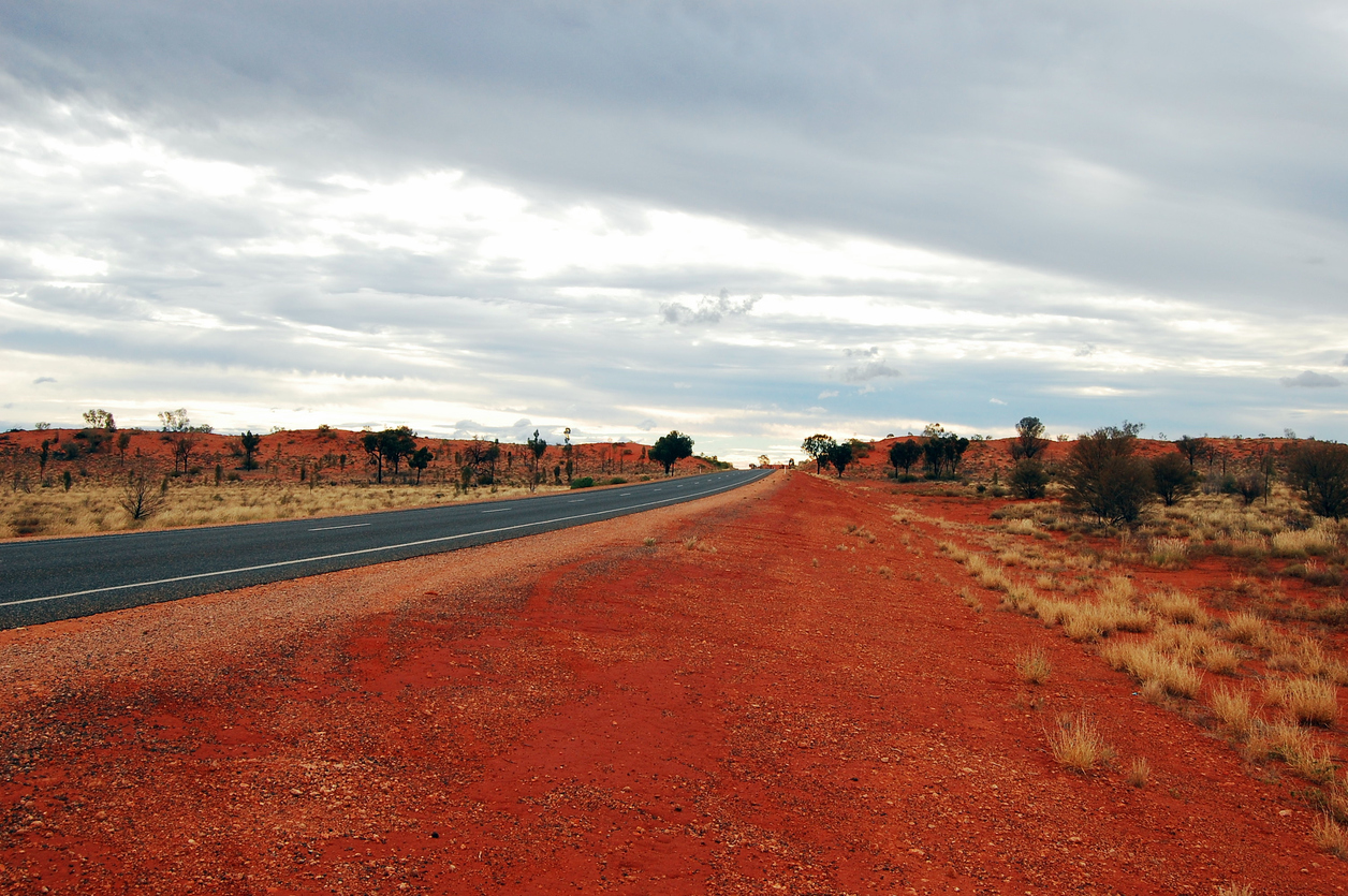 The Red Desert in the North Territory, Uluru
