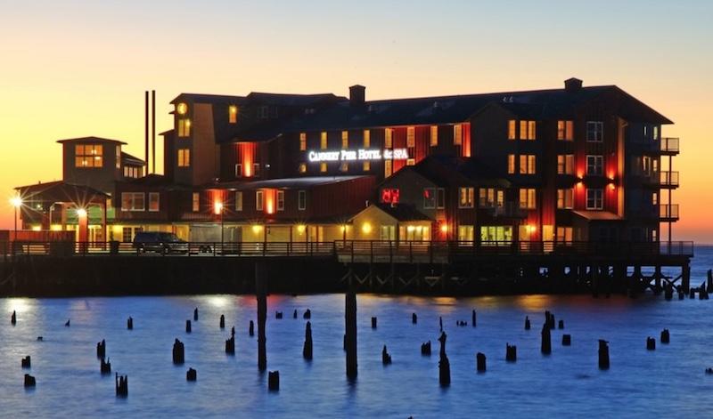 Cannery Pier Hotel, Astoria, Oregon