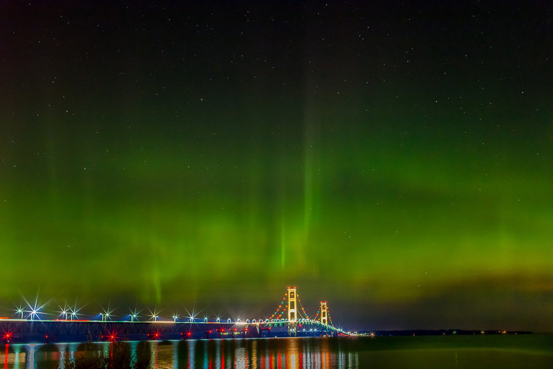 Northern light UP Michigan
