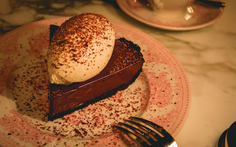 Bavette chocolate dessert in Park MGM Las Vegas
