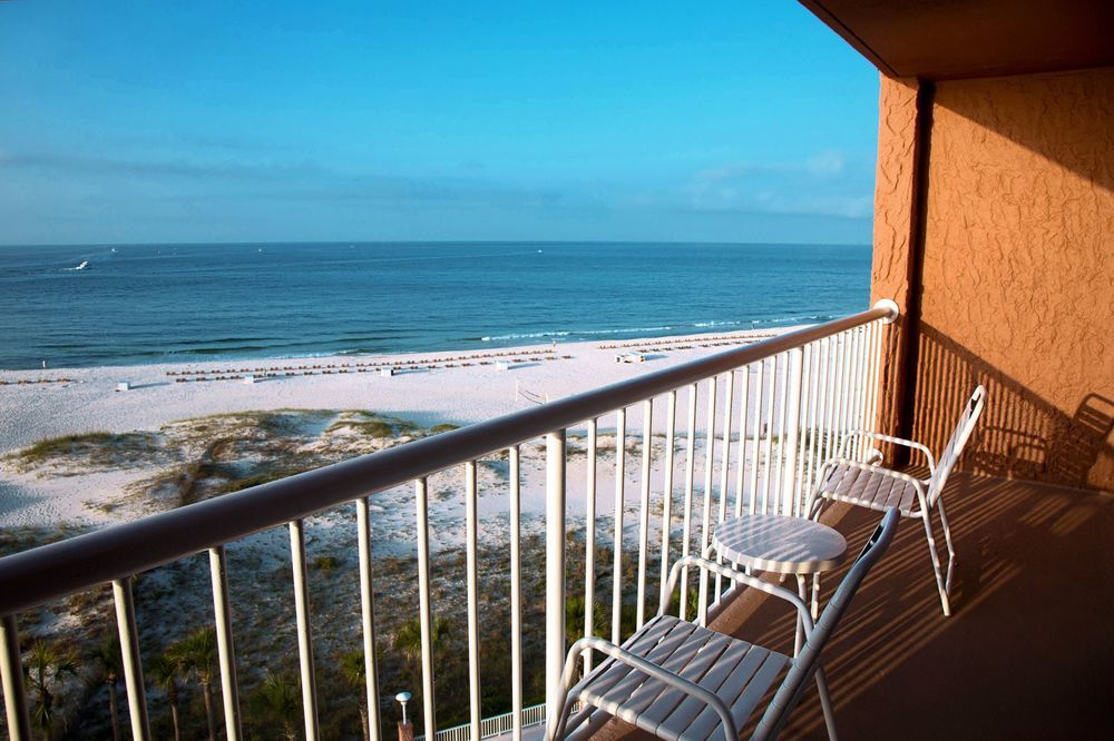 balcony in alabama's Perdido Beach Resort