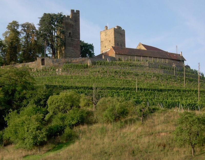 Neipperg in the wine country just outside Stuttgart