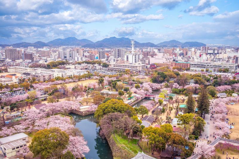 Himeji City, Japan