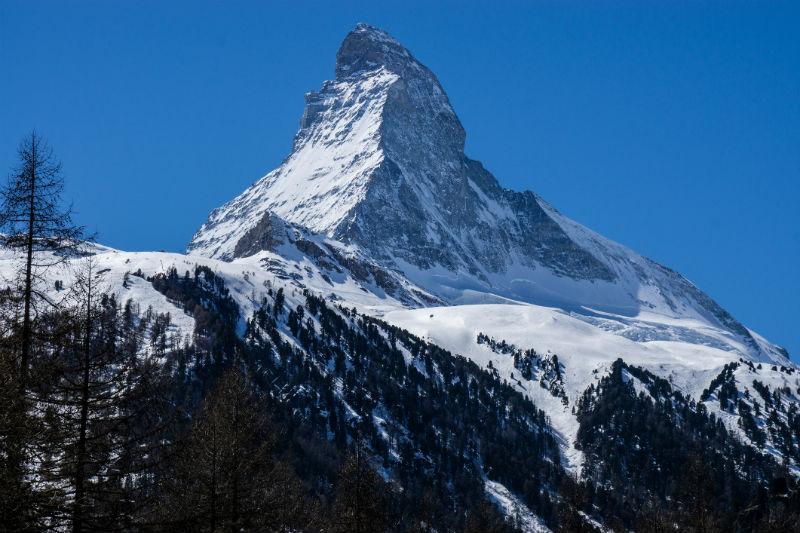 Cervinia, ski, Alps, Italy