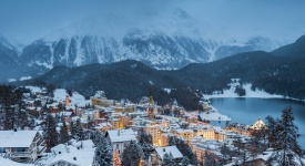 St. Moritz, Graubunden, Switzerland