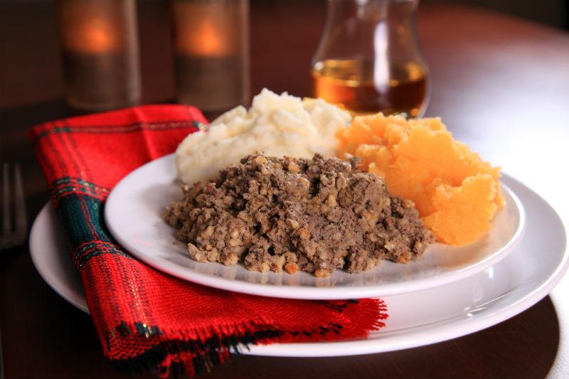 haggis, Scotland