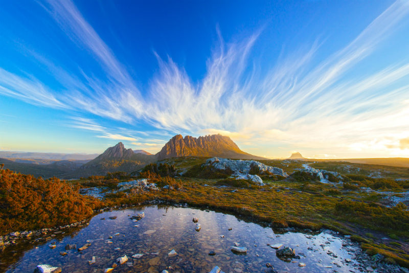 western wilderness, Tasmania
