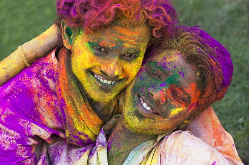 India, Holi, LGBTQ