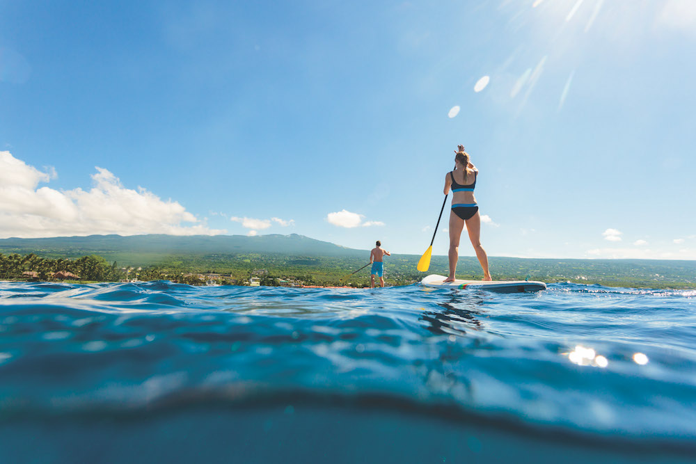 hawaii cruise activity paddleboarding