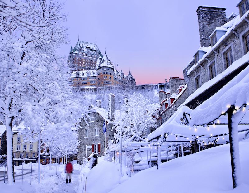 Quebec Fairmont Hotel