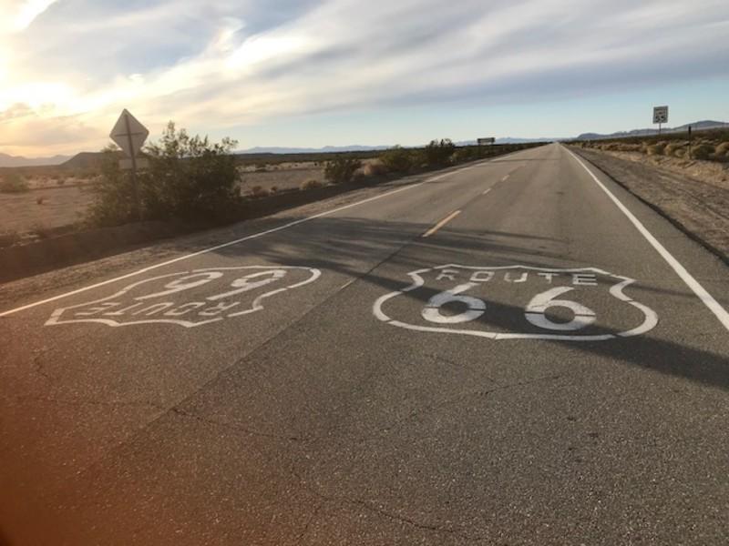 Route 66, Amboy, California