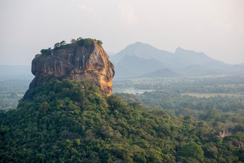 sri lanka, lion mountain