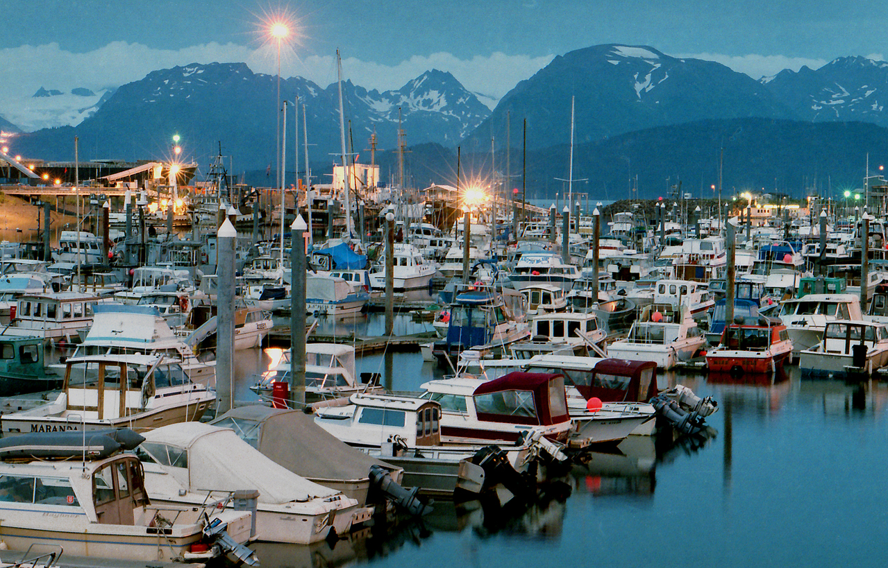 Harbor at Homer, Alaska