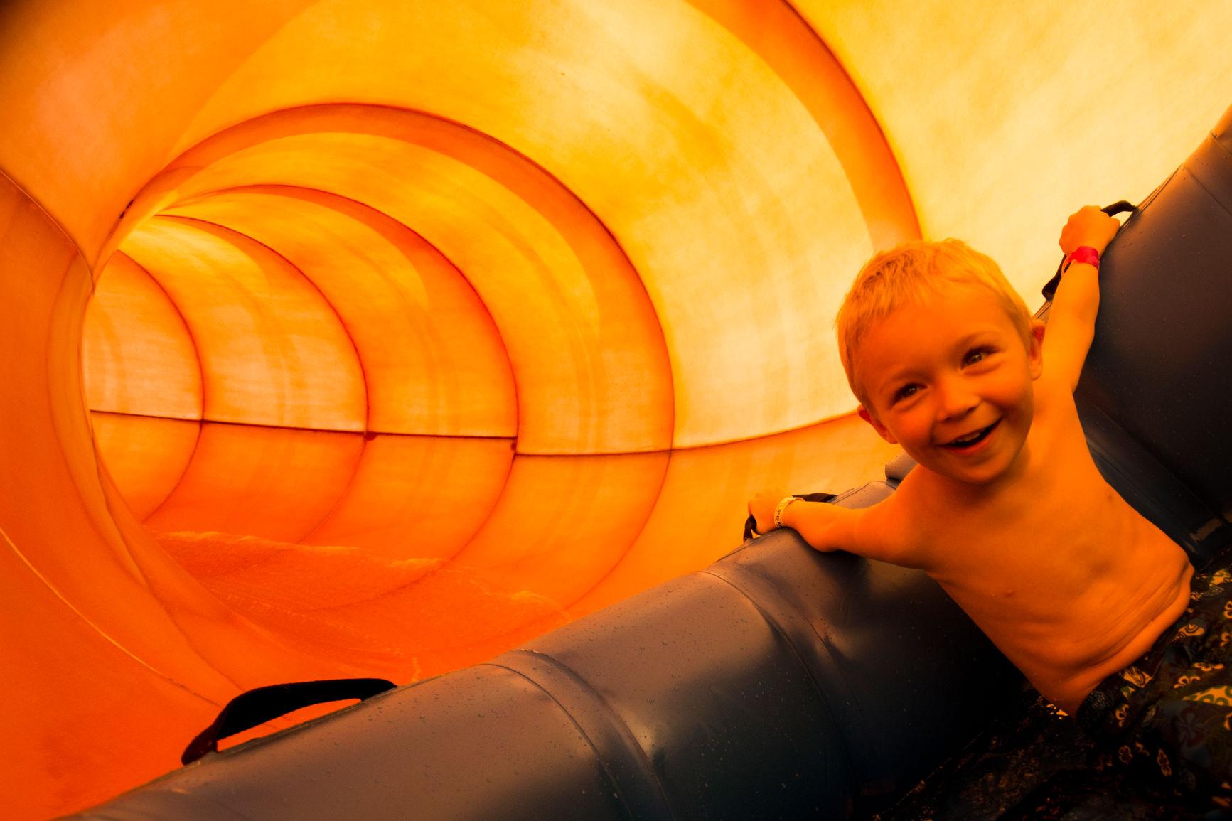 water slide in wisconsin dells