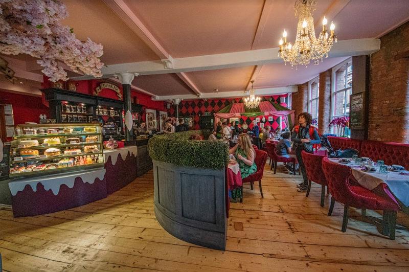 Richmond Tea Room, Manchester, England