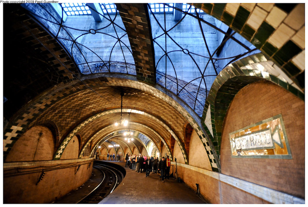 NYC subway station abandoned