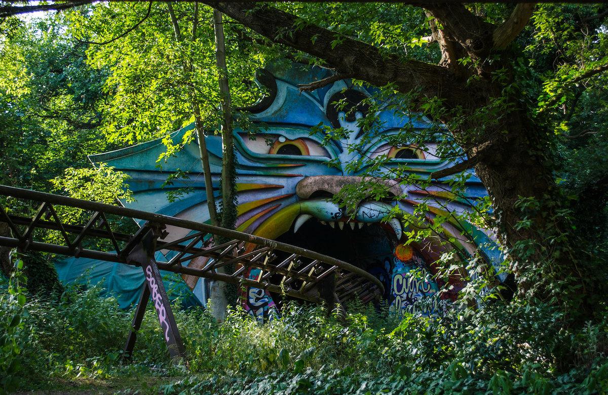 Spreepark amusement park in Berlin