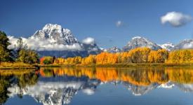 Wyoming, autumn