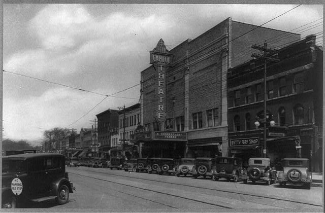 The Capitol Theater when it was still new in 1931