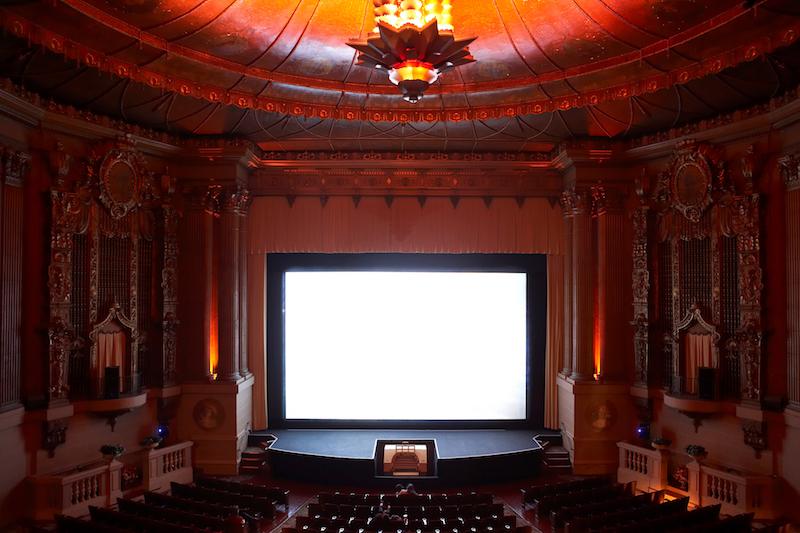 Castro Theatre interior by Hans Kwiotek