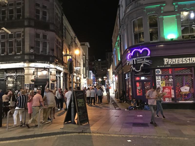 St. Mary's Street at night | PHOTO: Kate Robertson