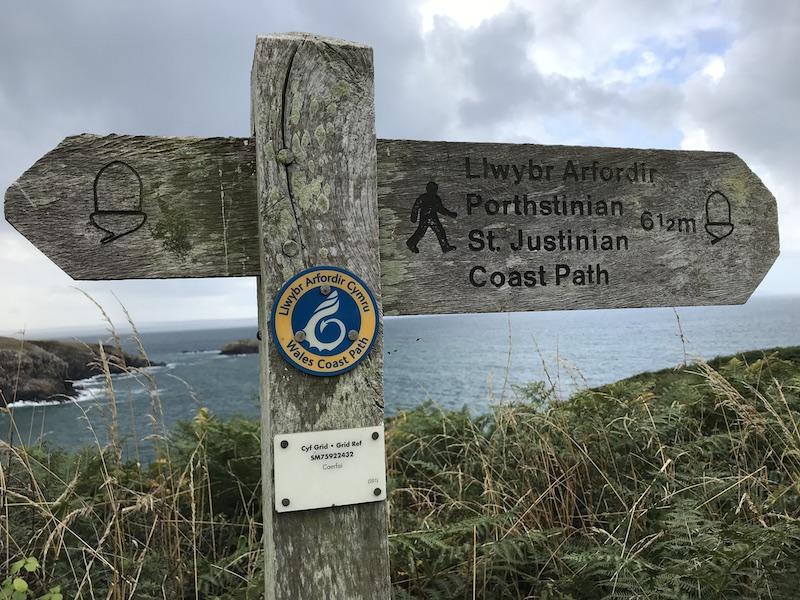 Wales Coast Path in Pembrokeshire | PHOTO: Kate Robertson