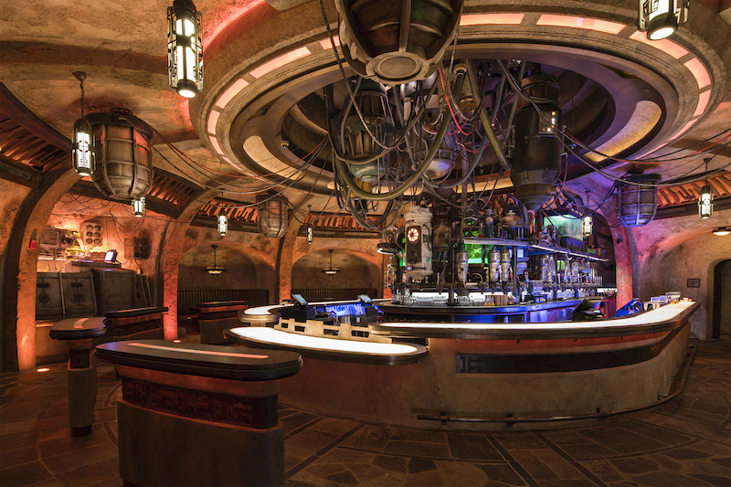 Oga's Cantina, a local watering hole where galactic travelers unwind | PHOTO: David Roark