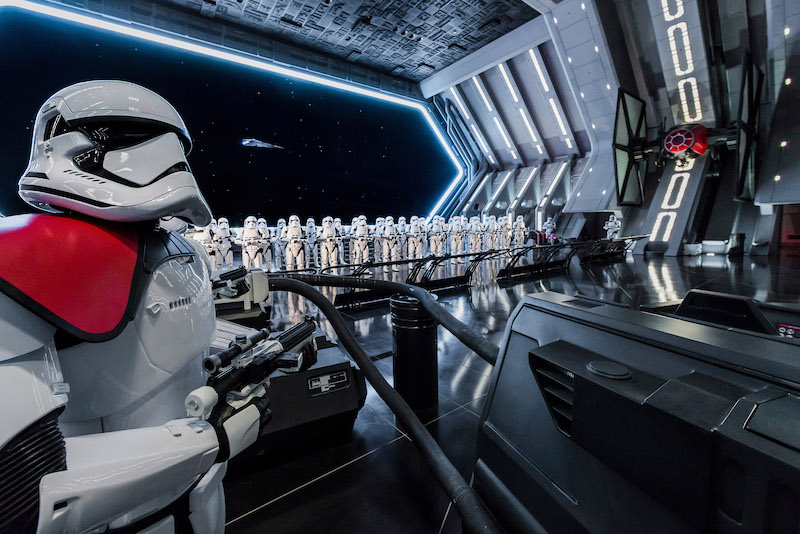 Star Wars: Rise of the Resistance Hangar | PHOTO: Joshua Sudock/Disney Parks