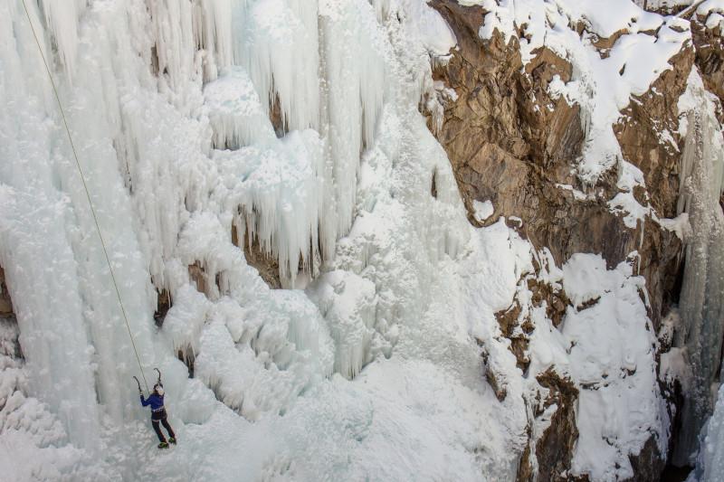 Ouray, Colorado, ice climbing