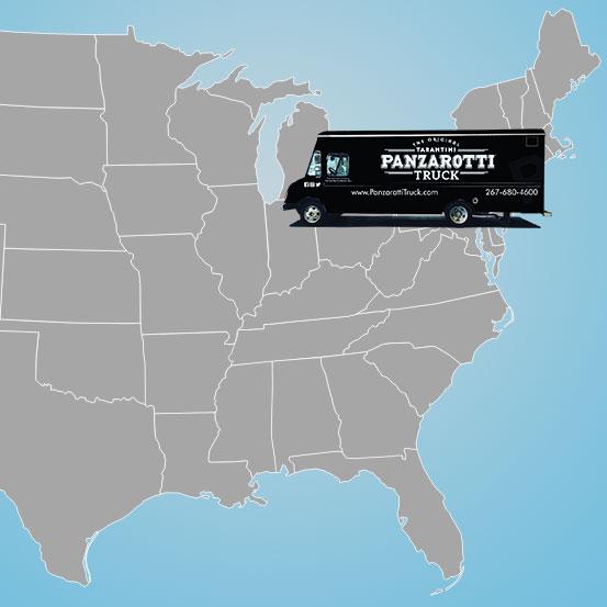 Find A Panzarotti Truck