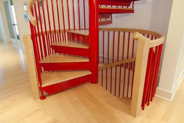 custom color code compliant staircase