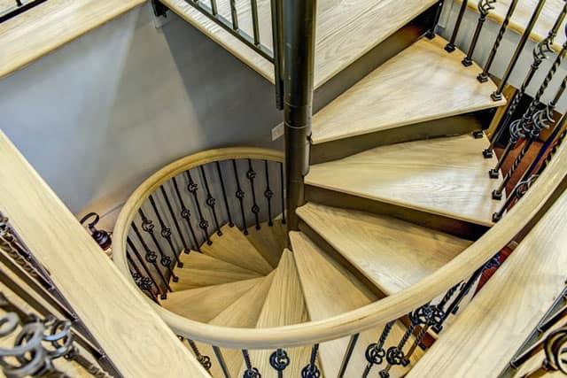 versatile victorian spiral staircase