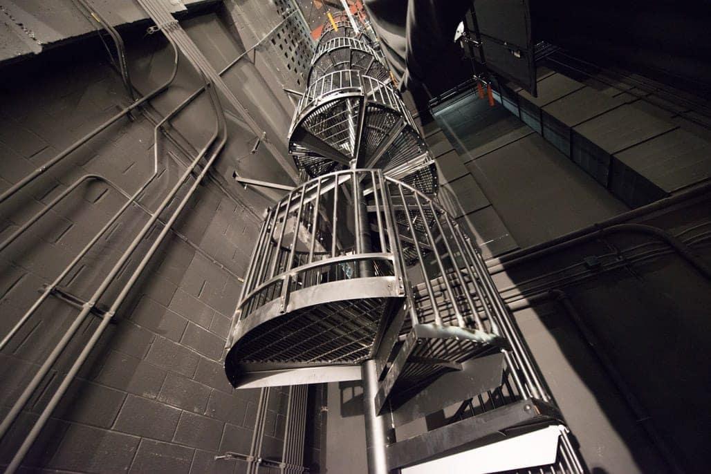 osha compliant utility stairs
