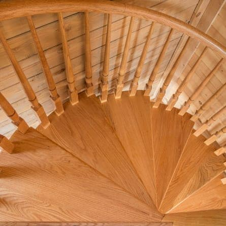 wooden-spiral-staircase