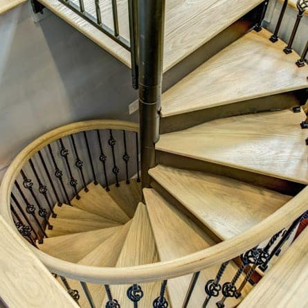 forged-iron-spiral-stairs